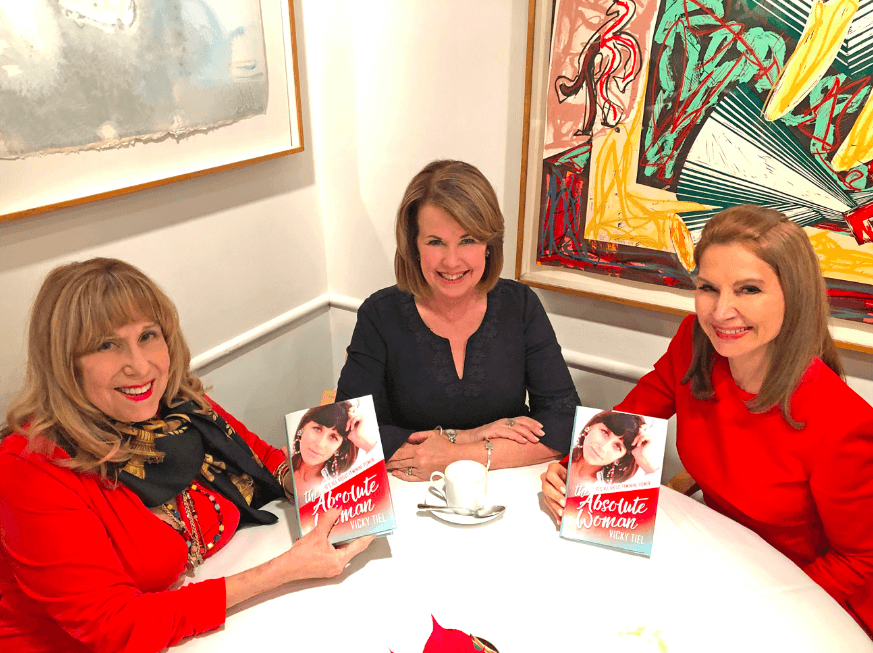 Vicki Tiel, Diane Clehane & Jean Shafiroff