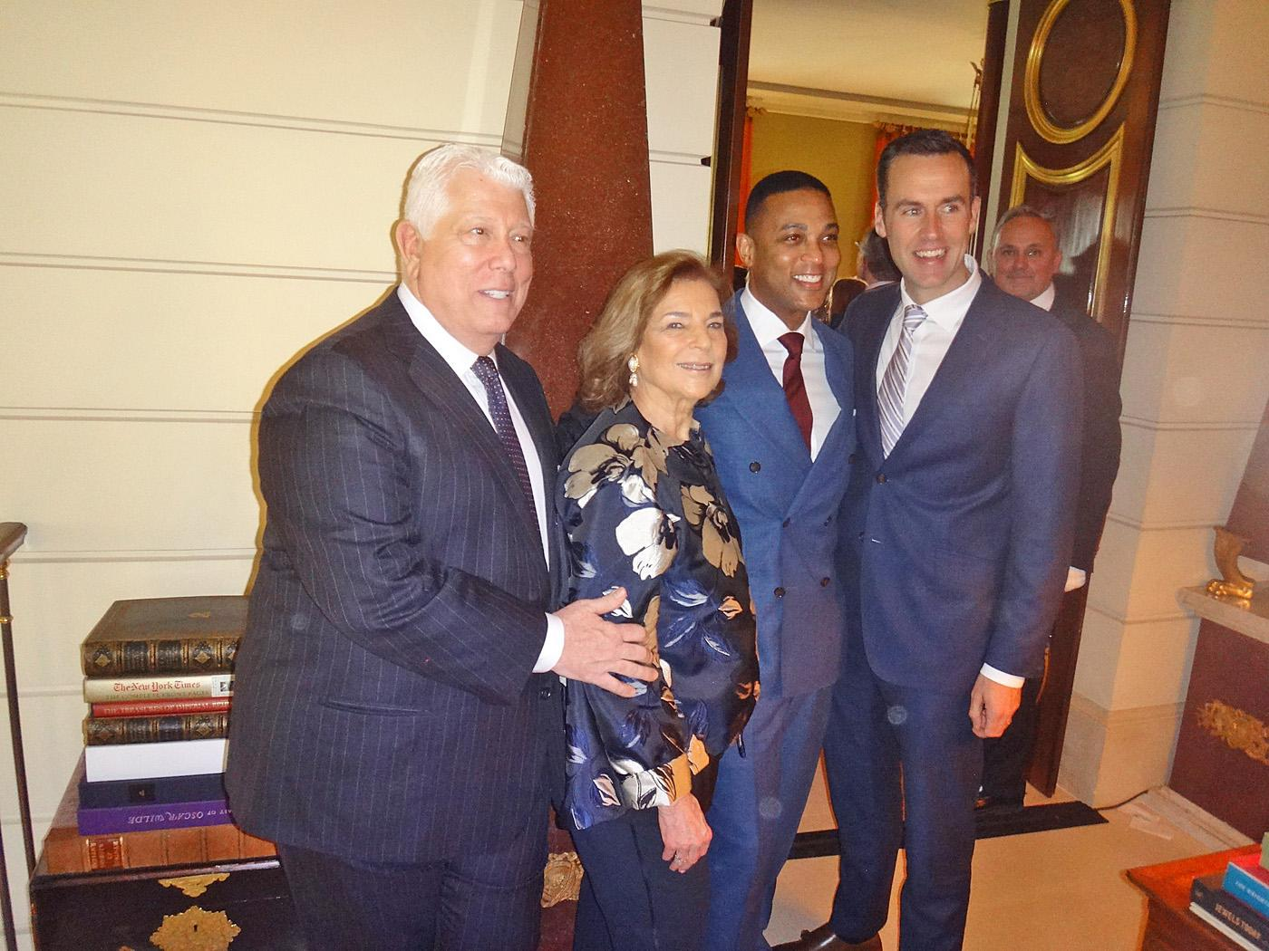 Dennis Basso, Marion Waxman, Don Lemon & Tim Malone All photos Laurel Marcus