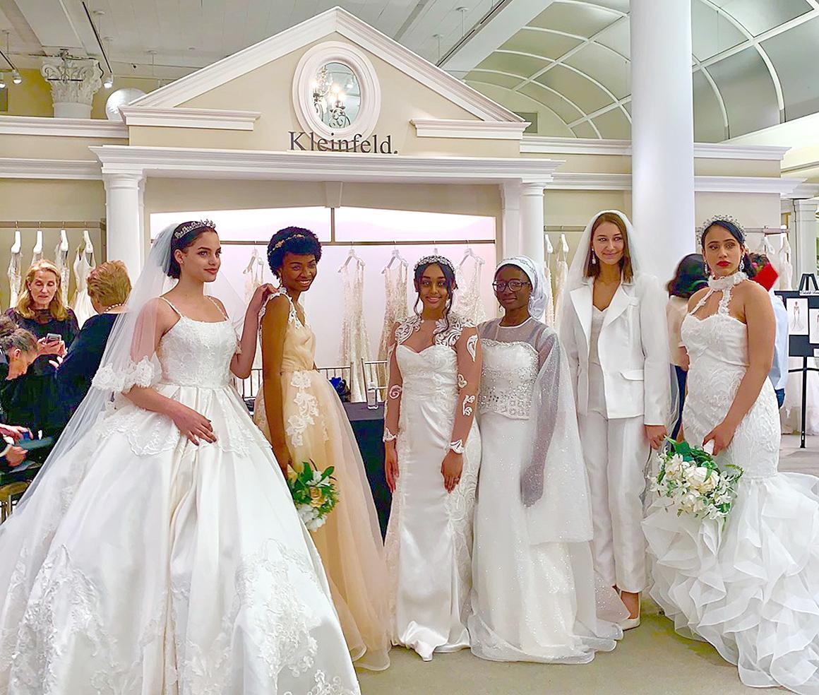Bridal design finalists